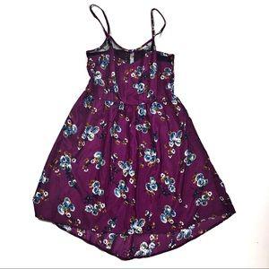 ☕️5/$25 Xhilaration small satin mini dress floral